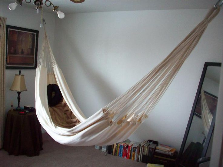 17 best ideas about bedroom hammock on pinterest man for Diy bedroom hammock
