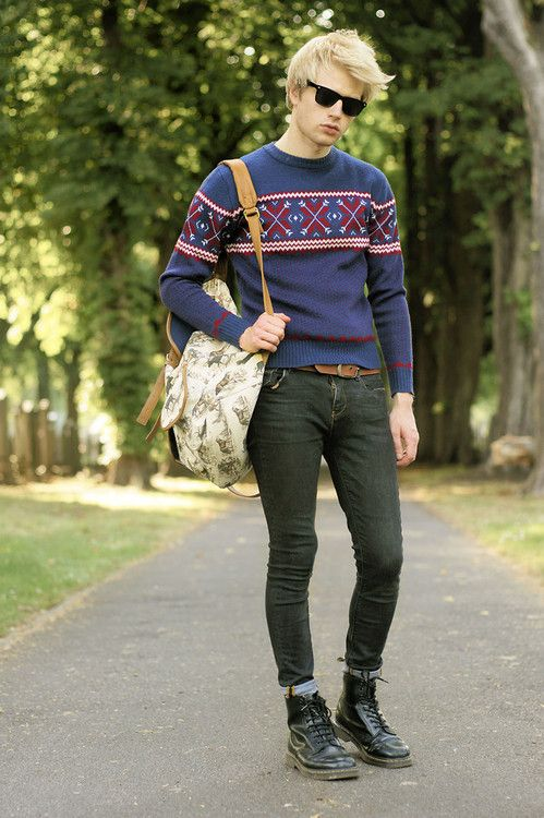 Teenageboyoutfits Reblog If You Love This Winter Wear Men In Skinny Jeans Pinterest