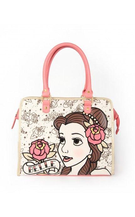 Belle Tattoo Tote Bag