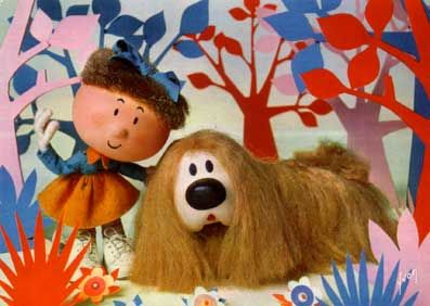 Awww Florance & Doogle from the Magic Roundabout