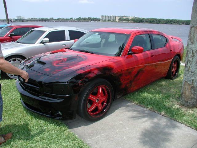Dodge Charger Custom Paint Jobs | Beastly Custom Paint Job.