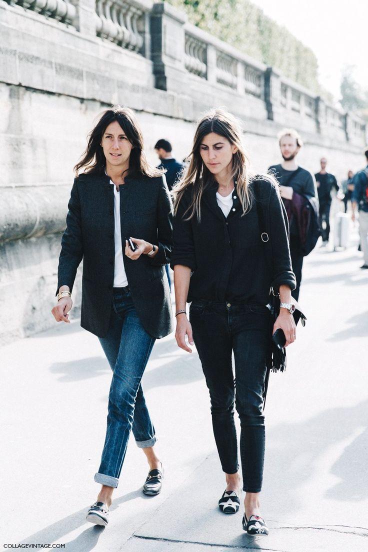 Geraldine Saglio and Morganne Bedel