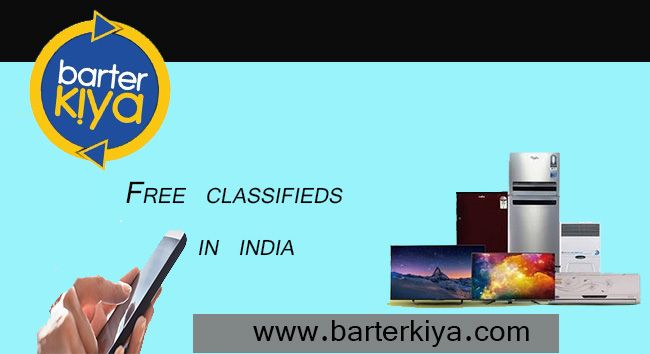 Barterkiya is India's No.1 Bartering website, which enables you to list your unused Goods to Exchange like Free Classifieds.