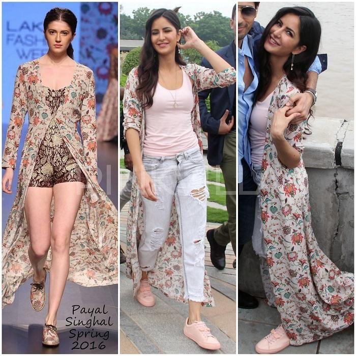 Celebrity Style,katrina kaif,Payal Singhal,Baar Baar Dekho