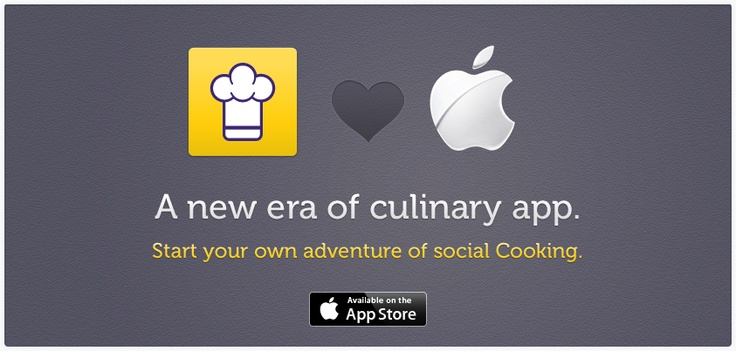New era of #culinary #app #Cooklet #App for #iPad