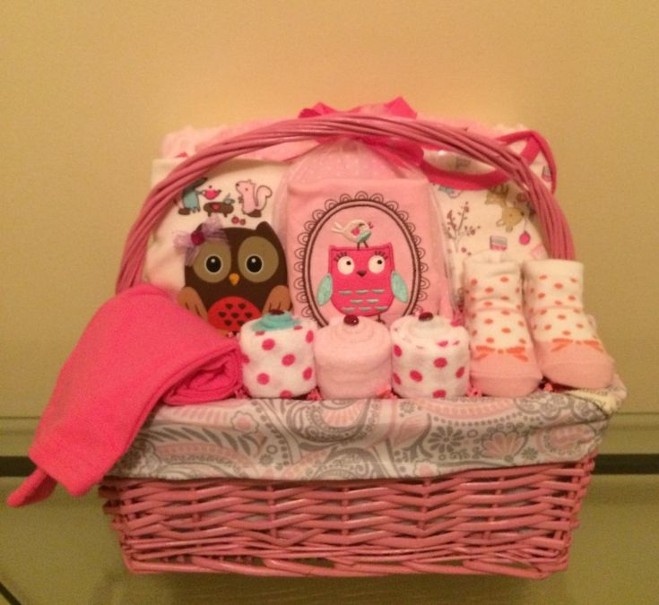 Check the way to make a special photo charms, and add it into your Pandora bracelets. Owl and Friends Baby Girl Gift Basket