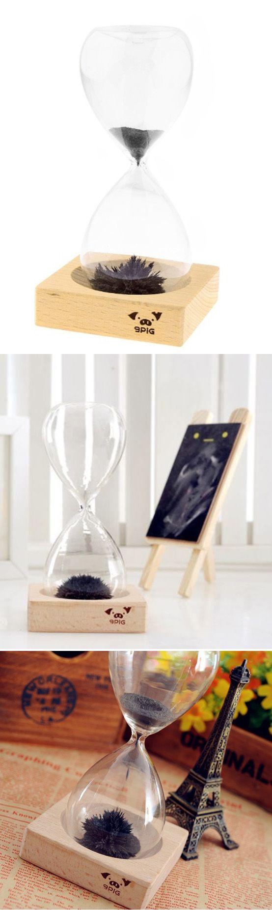 Reloj de arena magnético, quédate embobado con las formas que adopta, un reloj muy original sin duda!  - Magnetic Sand Clock, you'll go mad when you see the shapes of the sand!   #Regalos #Frikis #Gifts #Freaks #Reloj #Arena #Clock #Sandclock #Magnetico