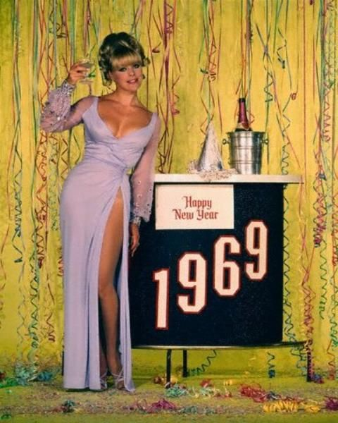 New Year's with Elke Sommer, 1969