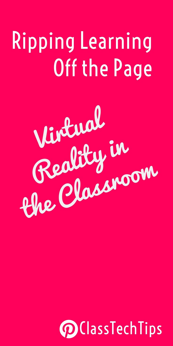 Virtual Reality in the Classroom | virtual reality education | virtual reality lesson ideas | virtual reality reading lessons