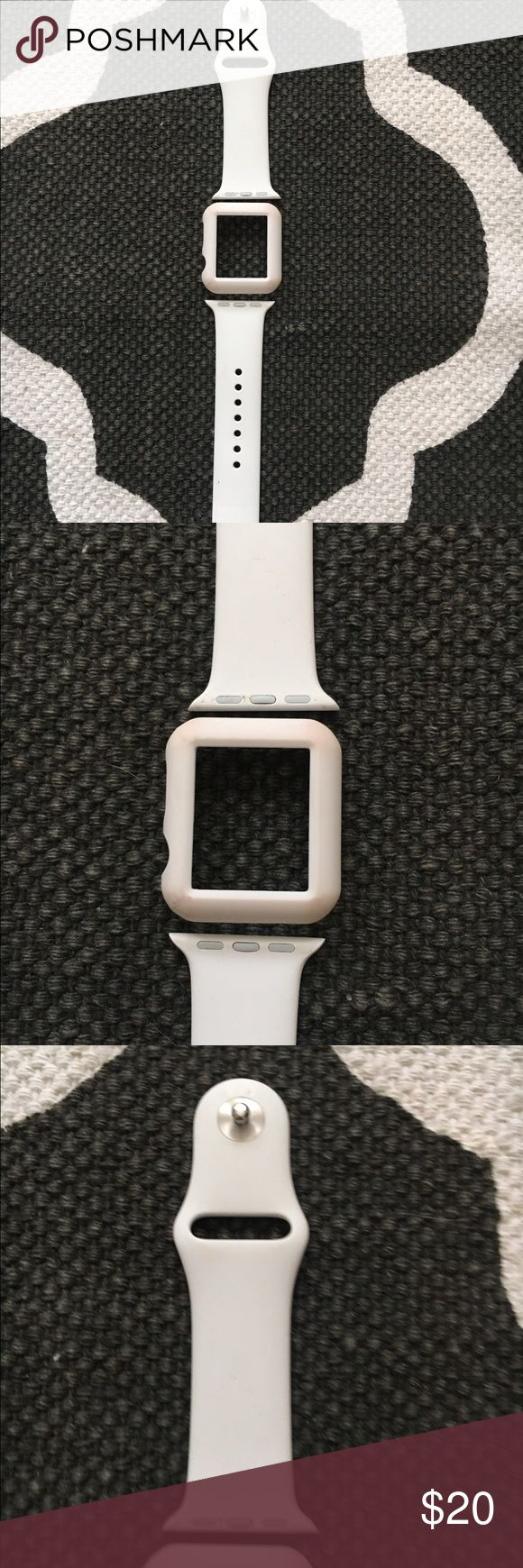 Apple Band & Protective Case Apple Band & Protective Case Size S/M - Worn Apple Accessories Watches
