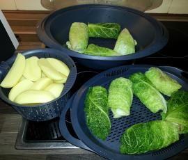 Rezept Kohlrouladen von NicoleK. - Rezept der Kategorie Hauptgerichte mit Fleisch