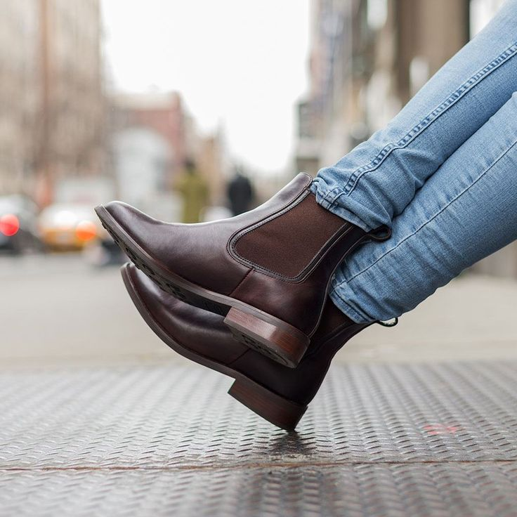 Duchess | Brown | Chelsea boots women, Chelsea boots ...