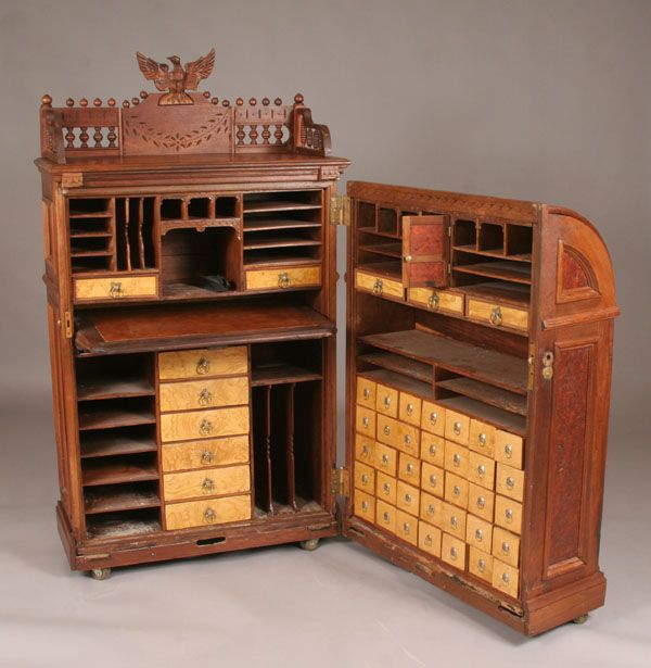 """""""Office Queen"""" by Moore Victorian Combination Desk Co"""