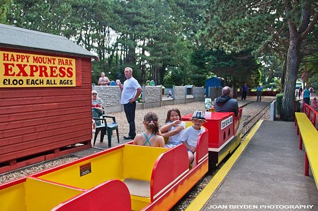Happy Mount Park Miniature Railway, Morecambe, Lancashire