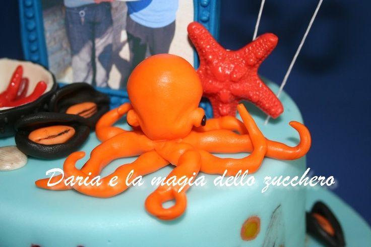 #Torta frutti di mare #Seafood cake