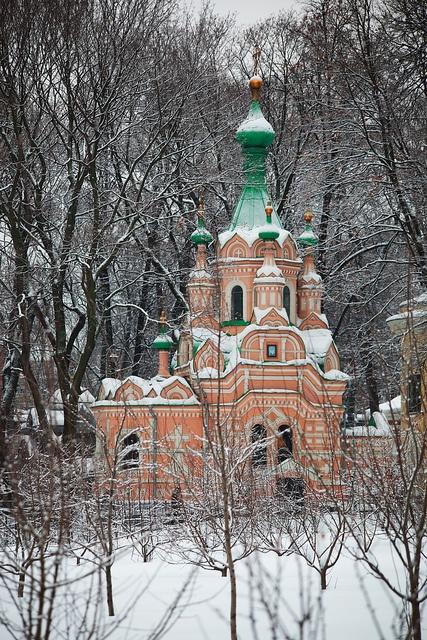 Донской монастырь. Церковь Иоанна Лествичника