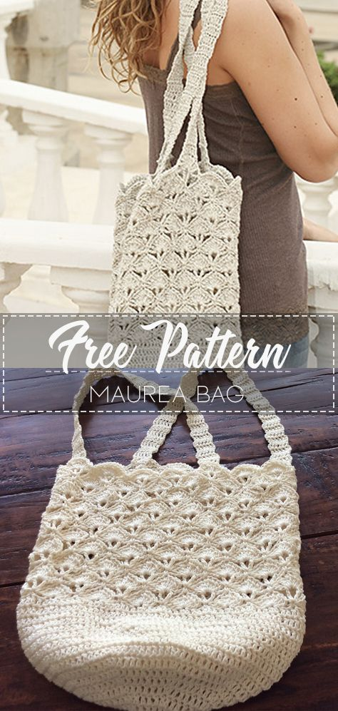 Maurea Bag – Pattern Free – Easy Crochet