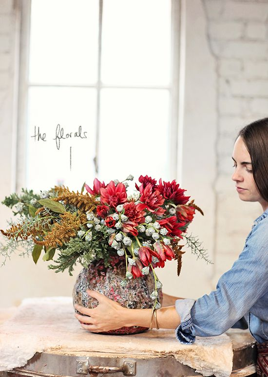 Heath ceramics florals