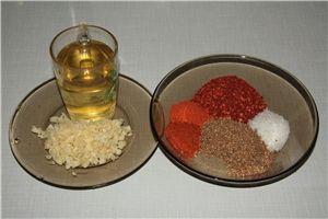 Приправа для корейских салатов : Соусы