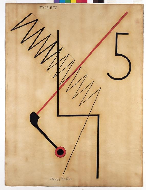 Francis Picabia - Tickets (Dada)(1922)