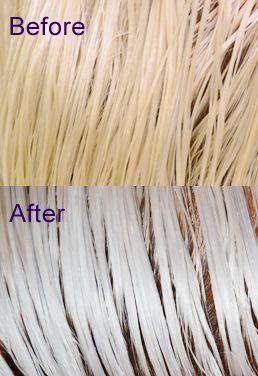 saved my hair. achieving platinum blonde hair