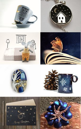 Night by Nadia Mangione on @etsy @etsyitaliateam @itsmartteam @bynadialab #etsytreasury #accessories #handmade #night #blue https://www.etsy.com/treasury/MzM5MjU2NTB8MjcyNDQzNDUzNw/night  --Pinned with TreasuryPin.com