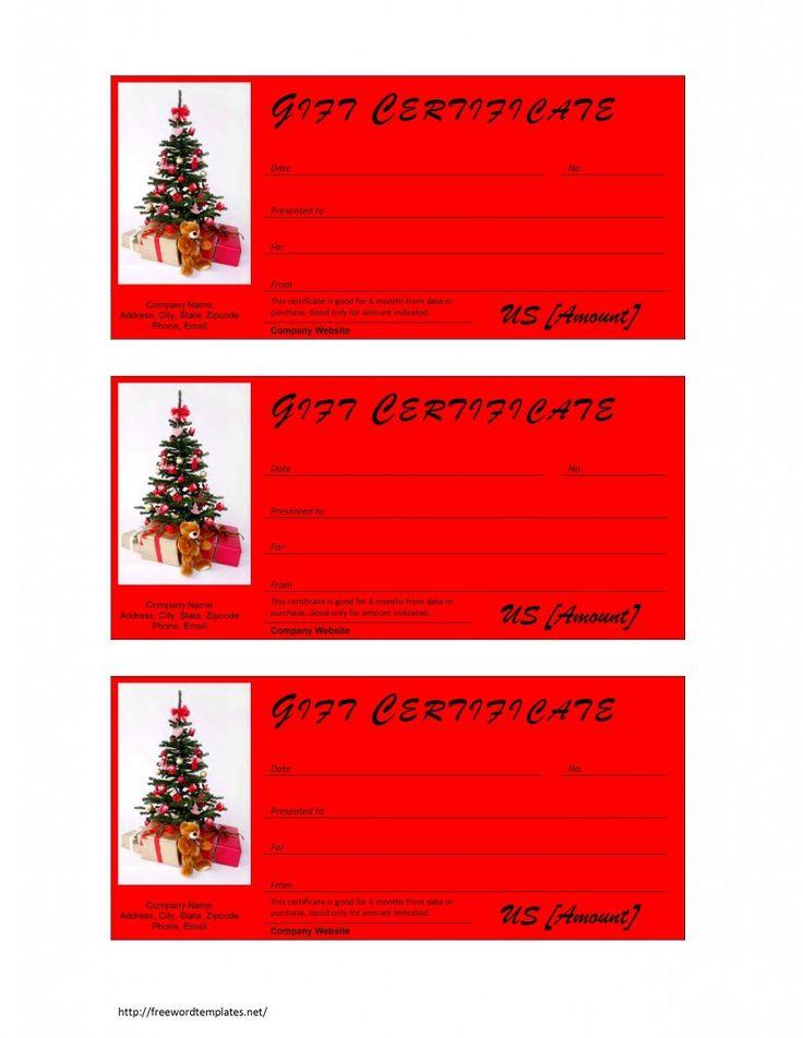 Πάνω από 25 κορυφαίες ιδέες για Gift certificate templates στο - free gift certificate template for word