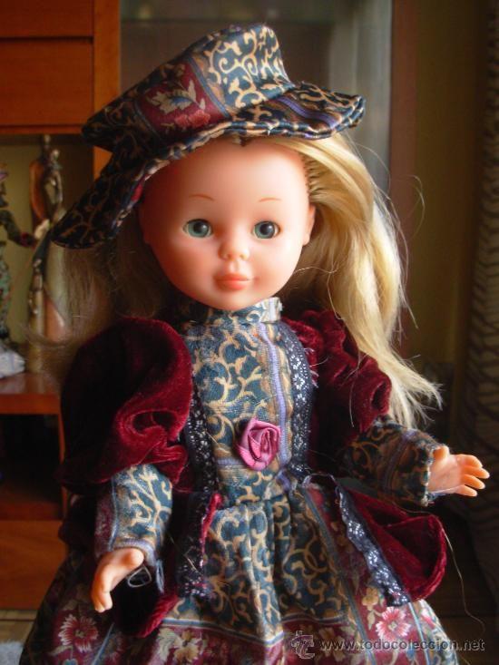 BONITO VESTIDO DE EPOCA PARA NANCY DE FAMOSA (Juguetes - Muñeca española Moderna - Nancy y Lucas, vestidos y accesorios)