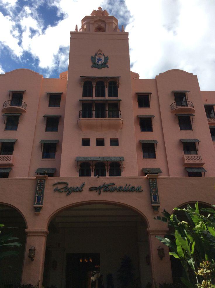 #Hawaii #pinkpalace #RoyalHawaiiHotel #hotel