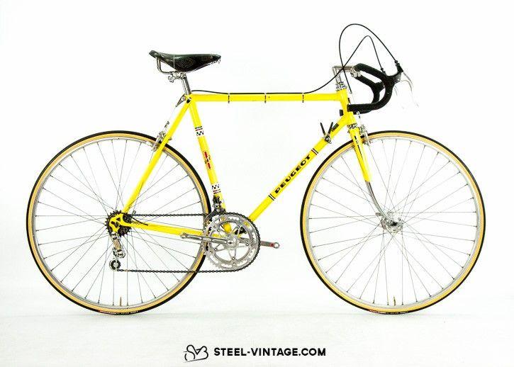 Steel Vintage Bikes - Peugeot PR10 Classic Road Bicycle 1975