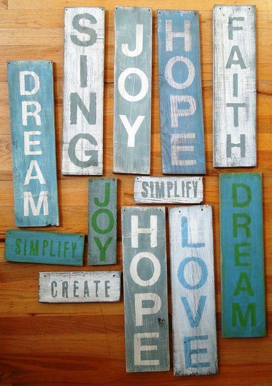 DIY Signs - hearty-home.com