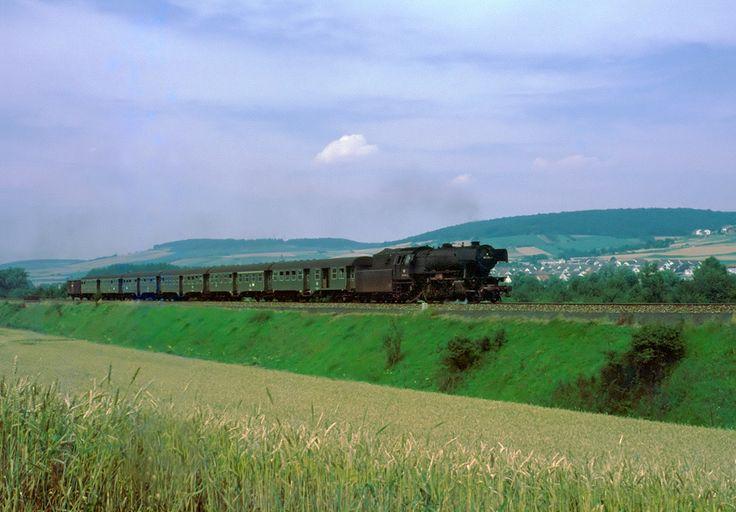 DB-Zug der Siebziger... von Maschinensetzer