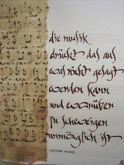 Kalligraphie Alpin