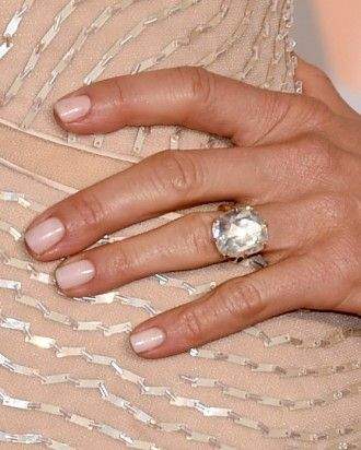 "See the ""Jennifer Aniston's Engagement Ring"" in our 23 Celebrity Engagement Rings That Are As Gorgeous As the Women Who Wear Them gallery"
