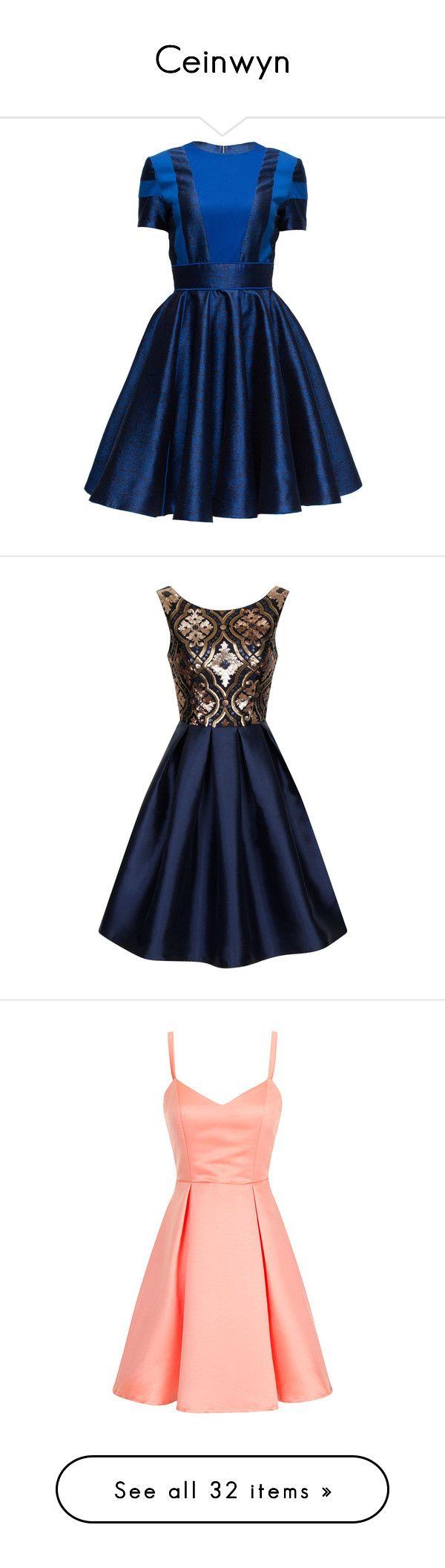 """Ceinwyn"" by vanessamuniz ❤ liked on Polyvore featuring dresses, lattori, short dresses, royal blue short dress, blue dress, mini dress, short blue dresses, blue mini dress, navy and women"
