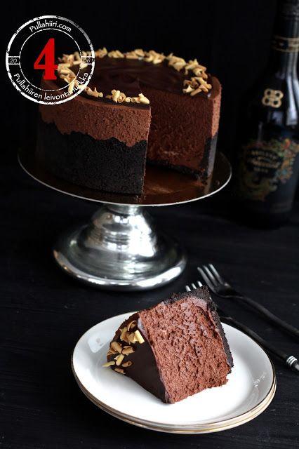 Joulukalenteri - Luukku 4: Baileys-suklaamoussekakku | Pullahiiren leivontanurkka | Bloglovin'