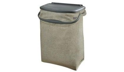 Make use as a linen bin inside a cupboard in utility room. (contemporary kitchen trash cans by Home Depot