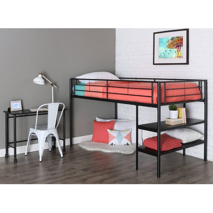 Twin Loft Bed Desk - Living Room Sets at ashley Furniture Check more at http://www.gameintown.com/twin-loft-bed-desk/