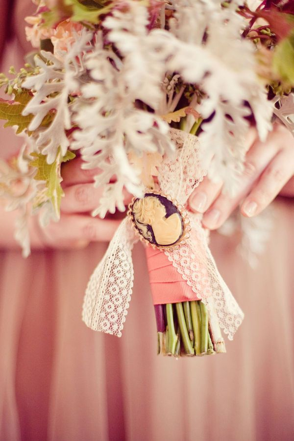 I think I'll have to do this when I get married. I collect cameos and it's kind of become a signet of mine. This means my bridesmaids will receive them as gifts! <3