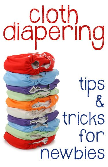 Cloth diapering tips and tricks: the how and why to use cloth diapers, including great money-saving tips!