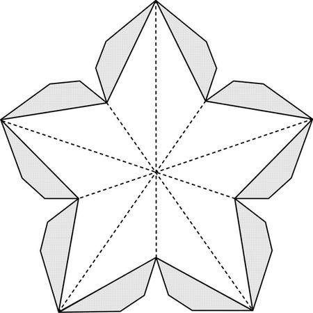 Как сделать объемная открытка звезда, сентября студентам