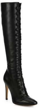 Gianvito Rossi Imperia Leather Knee-High Boots