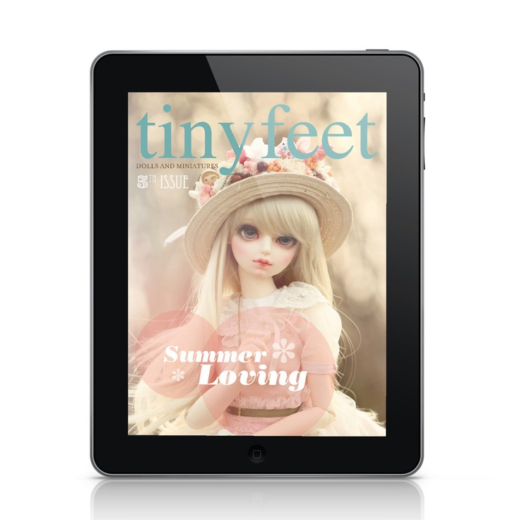 5.99$ New issue of Tiny Feet Magazine Summer Loving - Digital version