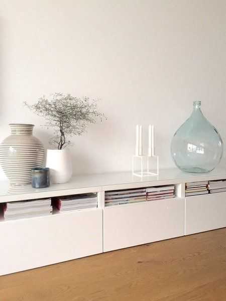 Sideboard Wohnzimmer Weiß Ikea 165 Best Ikea Besta Images On Pinterest | Homes, Interiors