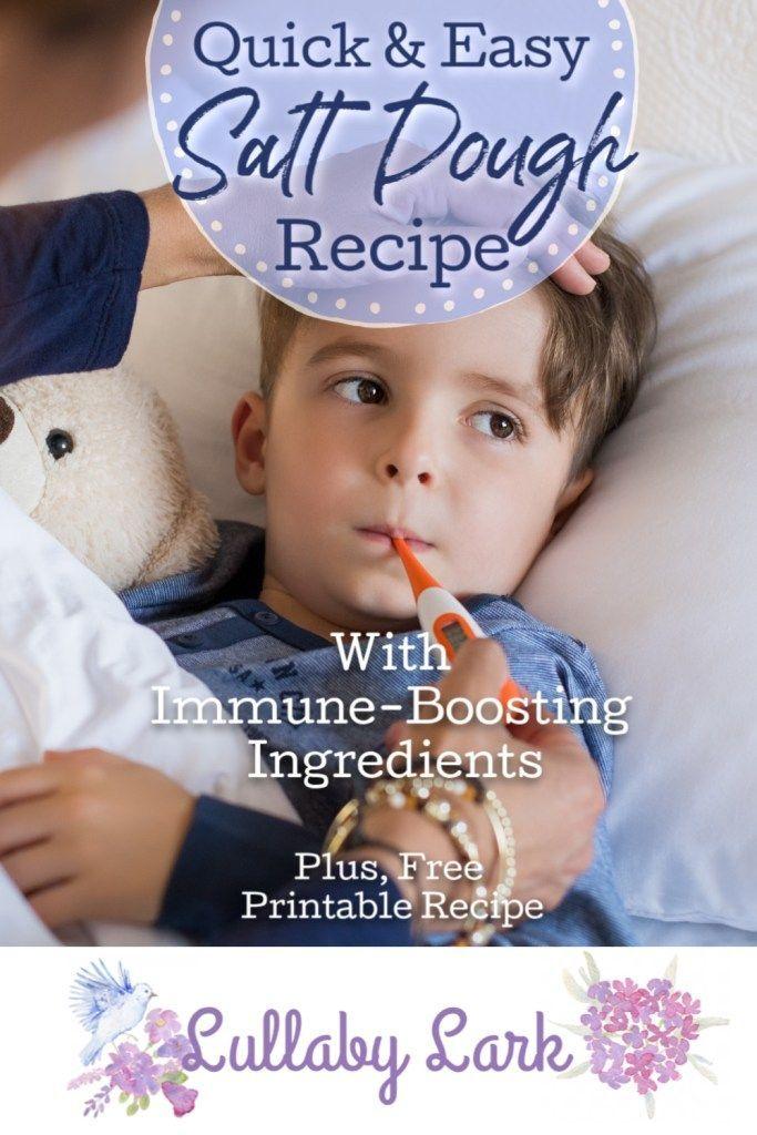 Lullaby Lark   Easy Salt Dough Recipe With Immune-…