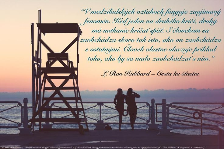 """""""Now there is an interesting phenomenon at work in human relations. When one person yells at another the other has an impulse to yell back. One is treated pretty much the way he treats others: one actually sets an example of how he should be treated."""" L. Ron Hubbard  The Way To Happiness #quote #quotes #quoteoftheday #citat #citaty #lifequotes #quotestagram #happiness #happy #stastie #true #pravda #lrh #bepositive #relationship #relationships #shout #man #example #slovak #slovakia #slovensko…"""