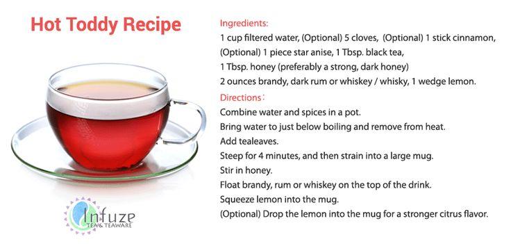 Hot toddy recipe   Tea recipes!   Pinterest   Hot toddy ...