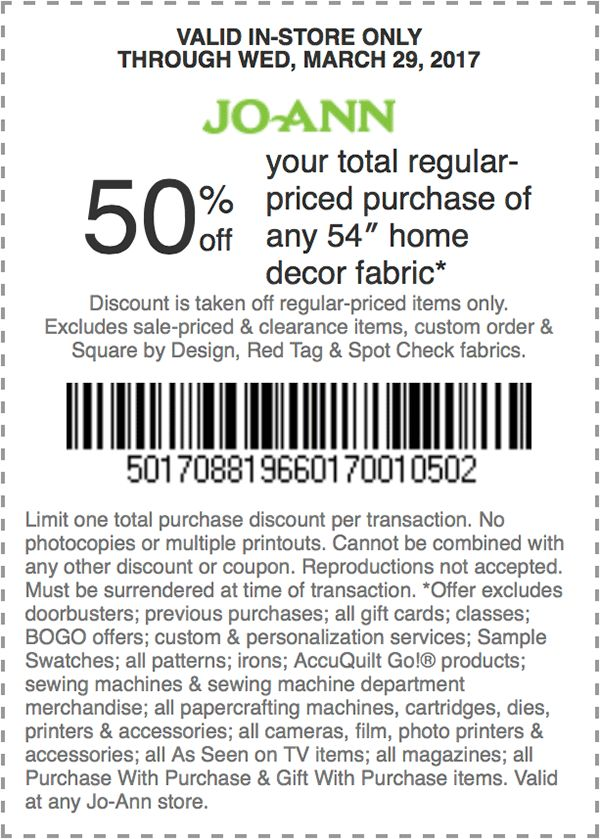Coupons for joann fabrics : Crackers and co cafe
