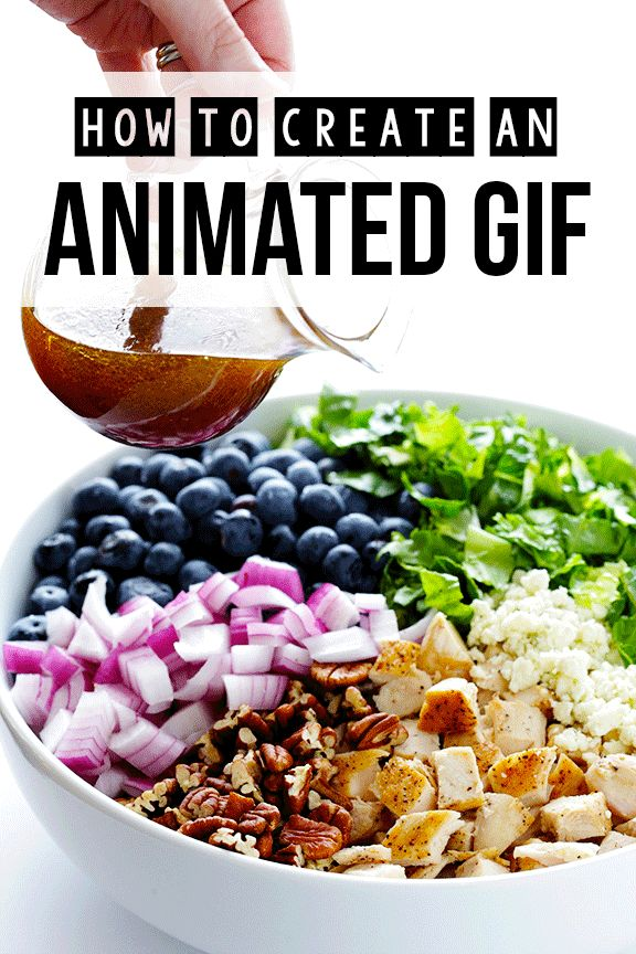 How To Make An Animated GIF -- a step-by-step tutorial for Photoshop | gimmesomeoven.com #tutorial