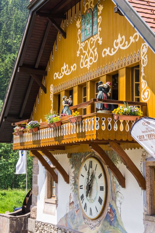 10 Living German Traditions in the Black Forest | The Travel Tester. Pictured: The 'Cuckoo's Nest' of Hofgut Sternen in Hinterzarten.